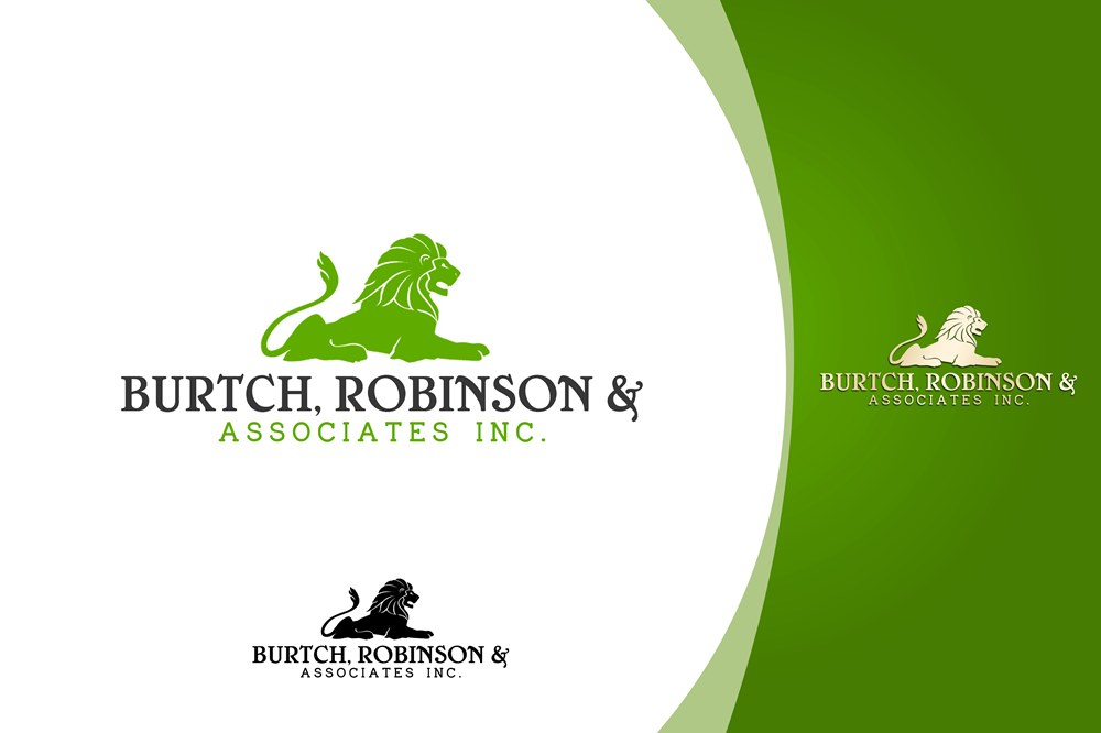 Logo Design by Fita Tiara Sani - Entry No. 73 in the Logo Design Contest Unique Logo Design Wanted for Burtch, Robinson & Associates Inc..