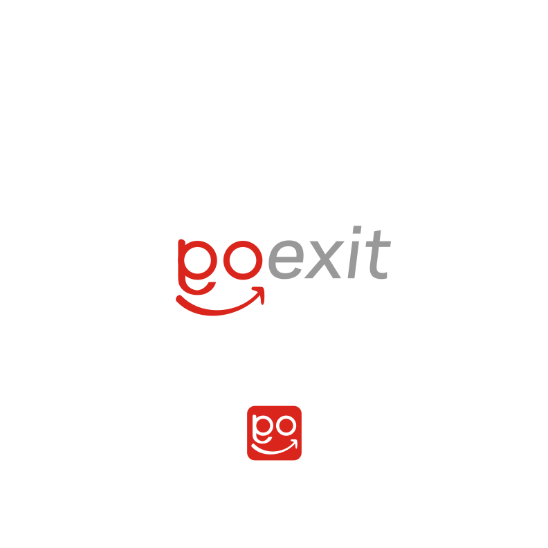 Logo Design by graphicleaf - Entry No. 241 in the Logo Design Contest GoExit Logo Design.