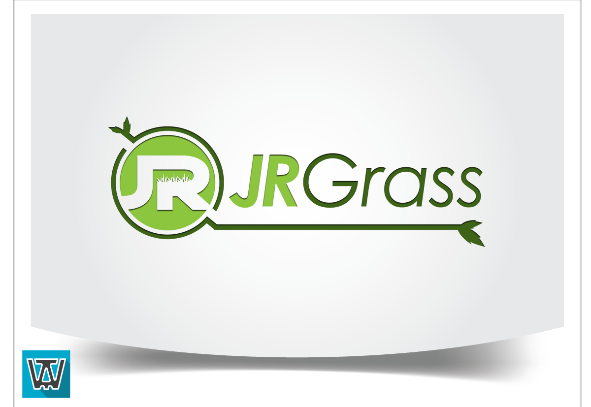 Logo Design by 354studio - Entry No. 79 in the Logo Design Contest Inspiring Logo Design for JR Grass.