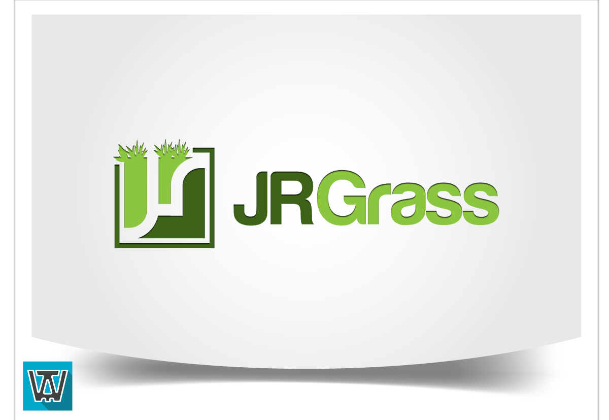 Logo Design by 354studio - Entry No. 80 in the Logo Design Contest Inspiring Logo Design for JR Grass.