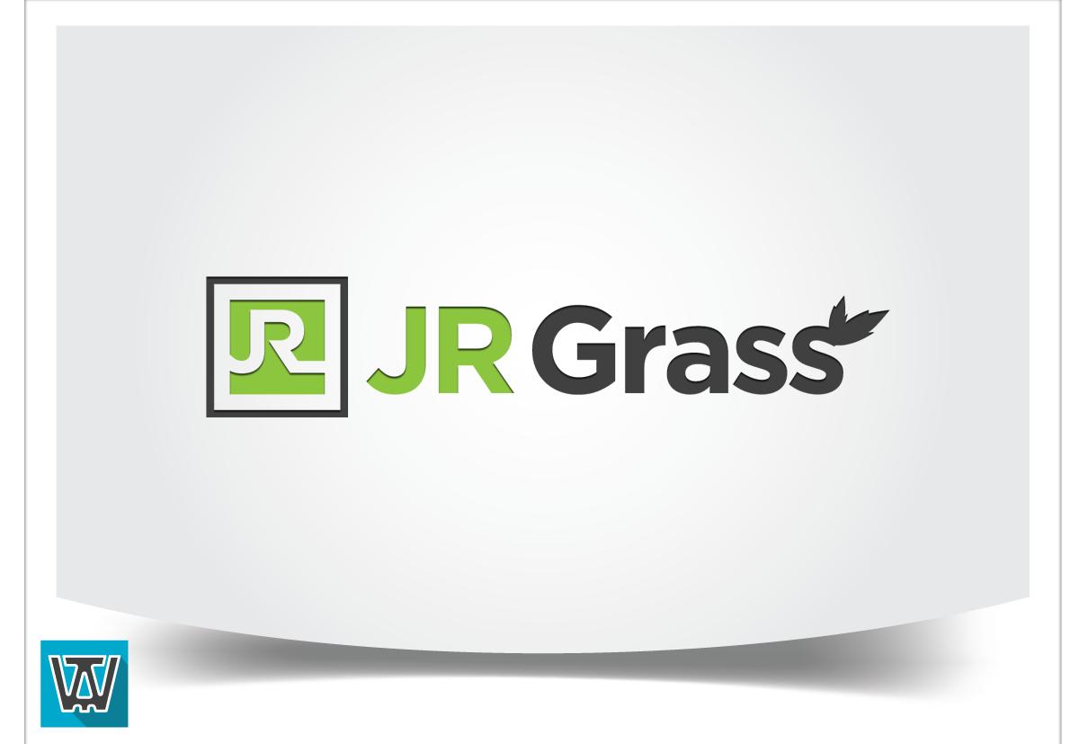 Logo Design by 354studio - Entry No. 82 in the Logo Design Contest Inspiring Logo Design for JR Grass.
