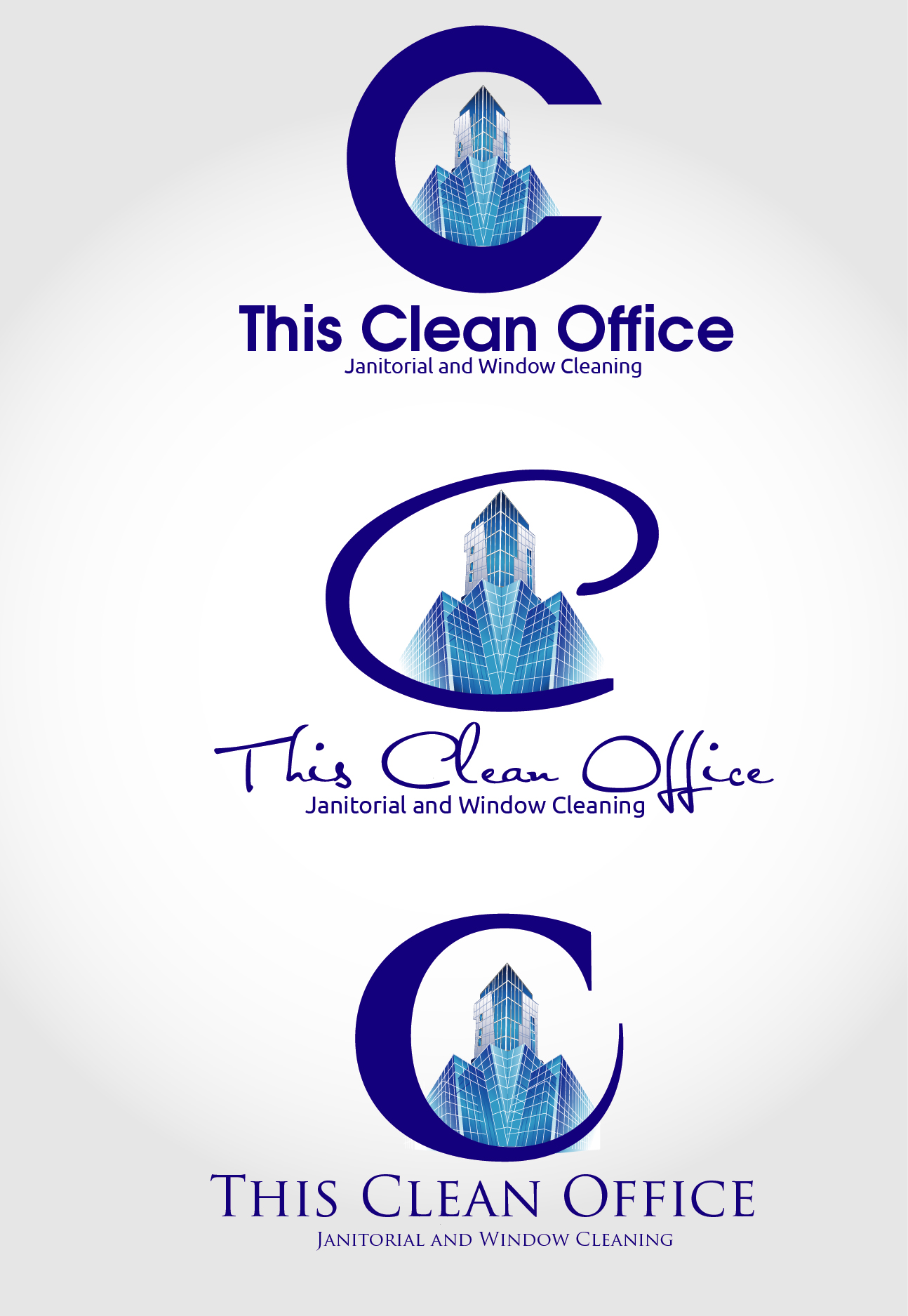 Logo Design by VENTSISLAV KOVACHEV - Entry No. 33 in the Logo Design Contest Professional and Unforgettable Logo Design for This Clean Office.