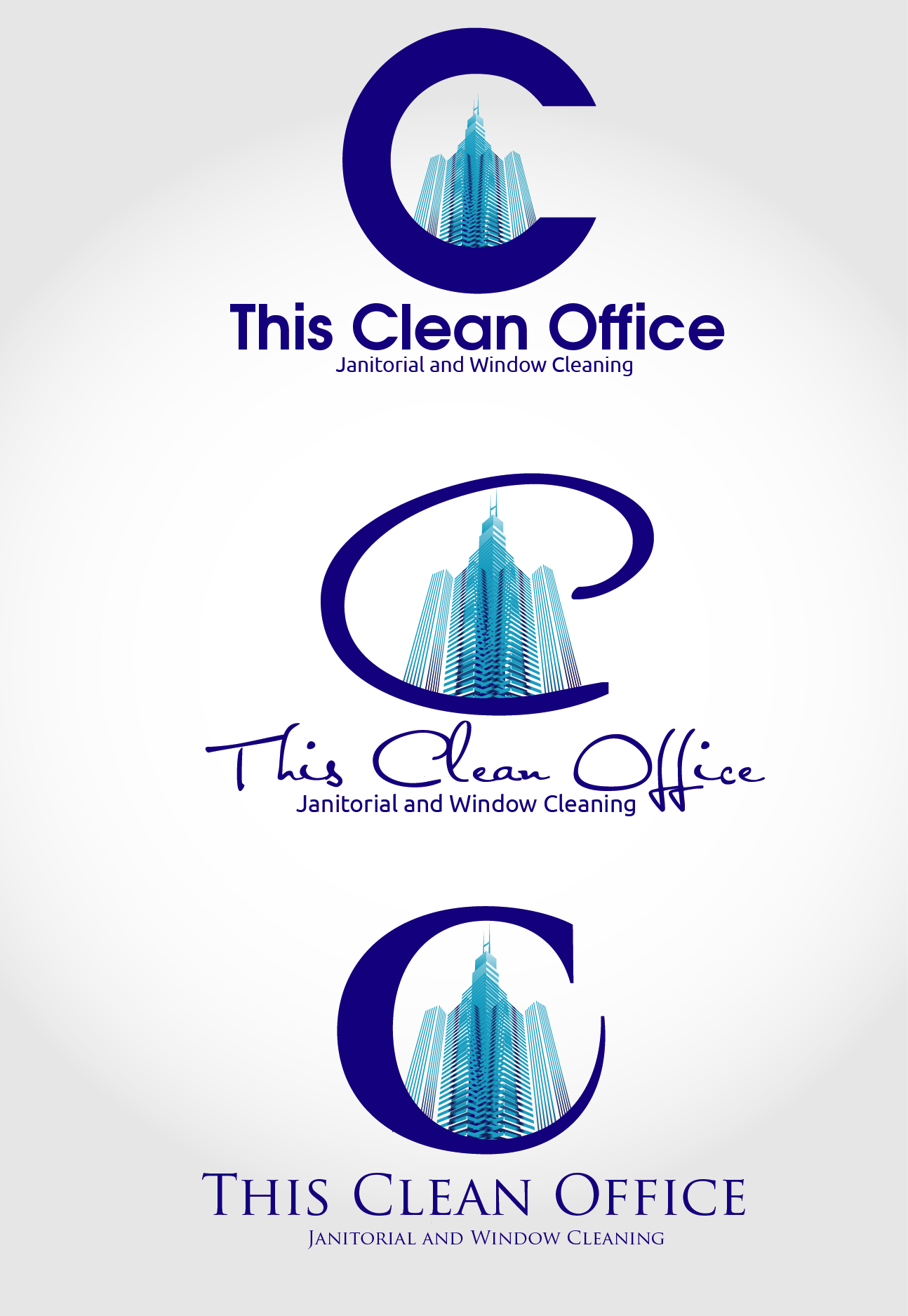 Logo Design by VENTSISLAV KOVACHEV - Entry No. 34 in the Logo Design Contest Professional and Unforgettable Logo Design for This Clean Office.