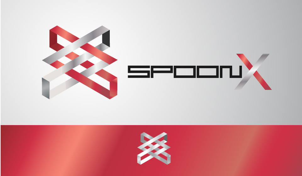 Logo Design by John Welkie Garcia - Entry No. 131 in the Logo Design Contest Captivating Logo Design for SpoonX.