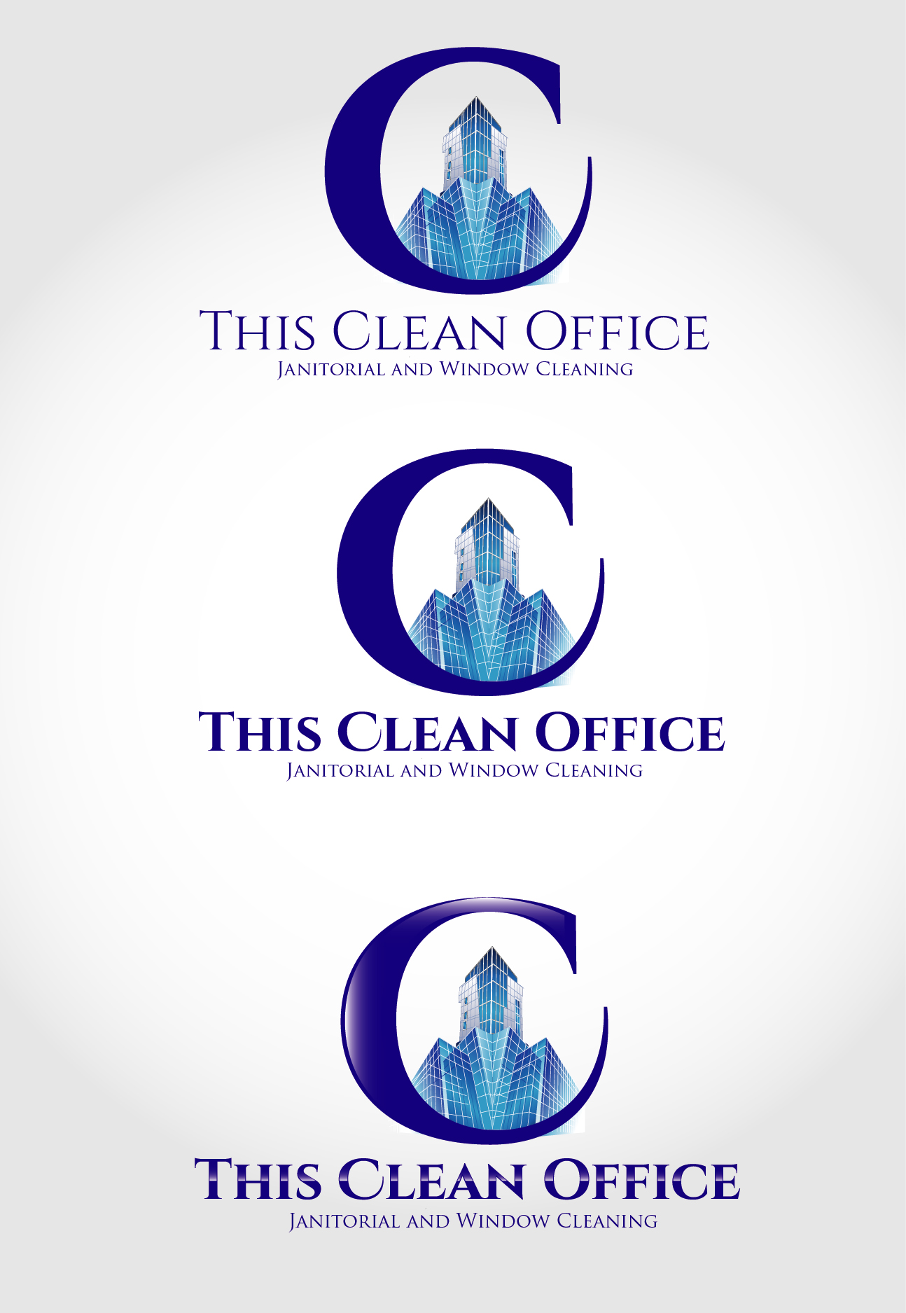 Logo Design by VENTSISLAV KOVACHEV - Entry No. 37 in the Logo Design Contest Professional and Unforgettable Logo Design for This Clean Office.
