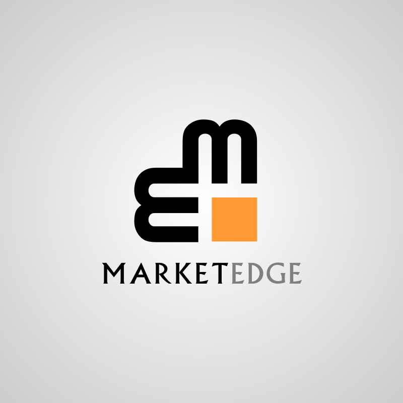 Logo Design by Rudy - Entry No. 47 in the Logo Design Contest Market Edge or Marketedge.