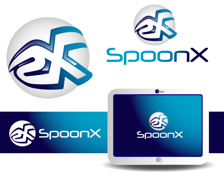 Logo Design by VENTSISLAV KOVACHEV - Entry No. 142 in the Logo Design Contest Captivating Logo Design for SpoonX.