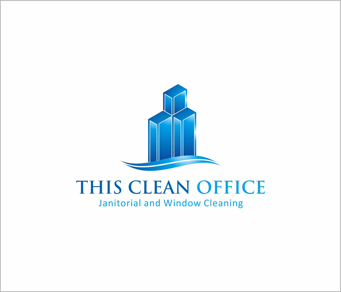 Logo Design by Armada Jamaluddin - Entry No. 44 in the Logo Design Contest Professional and Unforgettable Logo Design for This Clean Office.