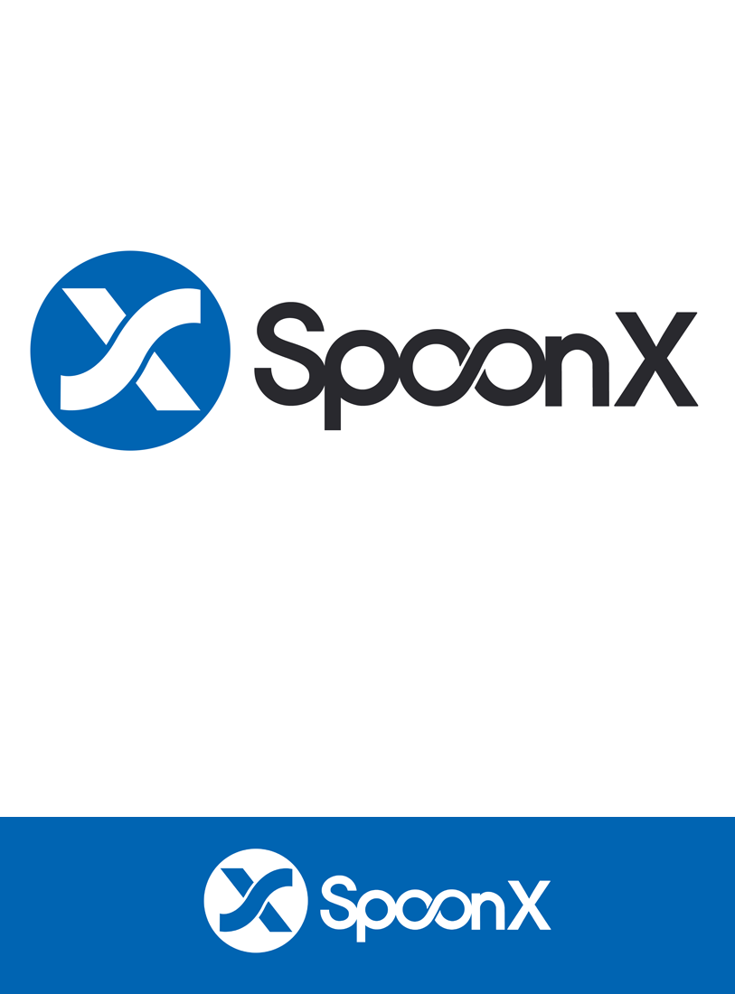 Logo Design by Robert Turla - Entry No. 156 in the Logo Design Contest Captivating Logo Design for SpoonX.