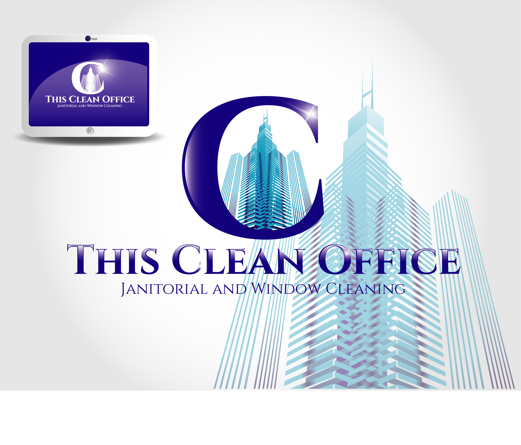 Logo Design by VENTSISLAV KOVACHEV - Entry No. 65 in the Logo Design Contest Professional and Unforgettable Logo Design for This Clean Office.