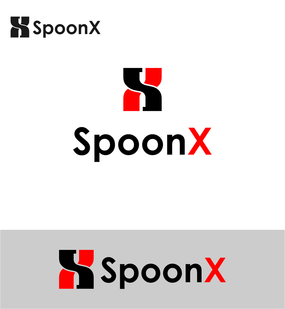 Logo Design by Agus Martoyo - Entry No. 181 in the Logo Design Contest Captivating Logo Design for SpoonX.