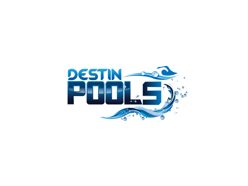 Logo design contests fun logo design for destin pools for Pool design logo