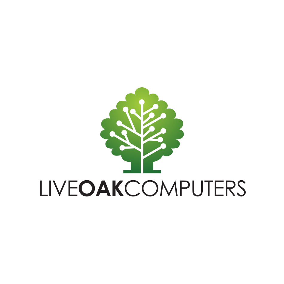 Logo Design by njleqytouch - Entry No. 67 in the Logo Design Contest Live Oak Computers.