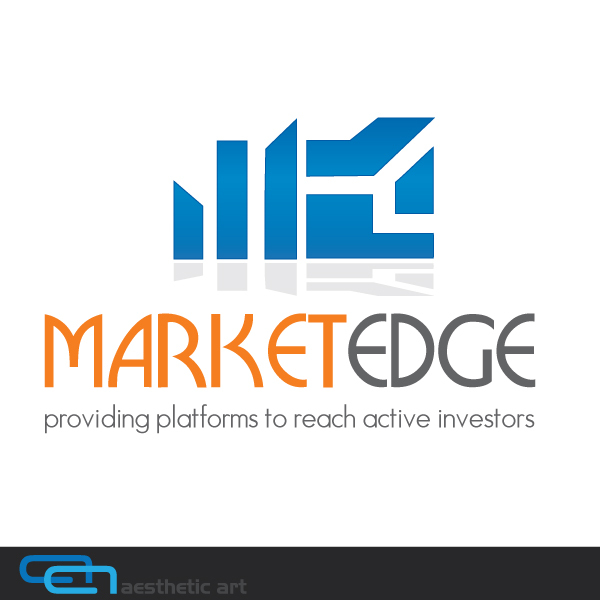 Logo Design by aesthetic-art - Entry No. 64 in the Logo Design Contest Market Edge or Marketedge.