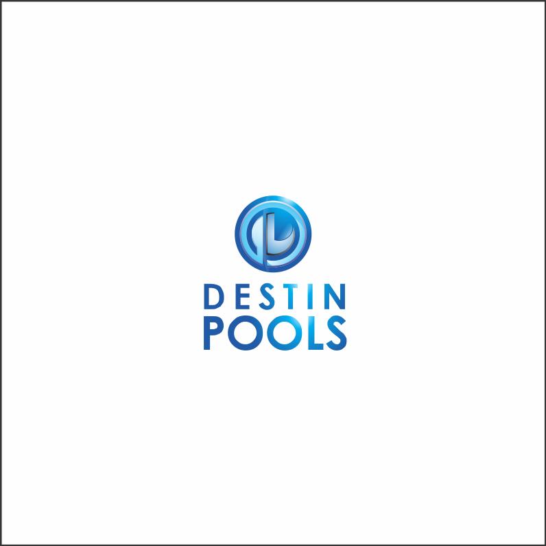 Logo Design by Armada Jamaluddin - Entry No. 77 in the Logo Design Contest Fun Logo Design for Destin Pools.