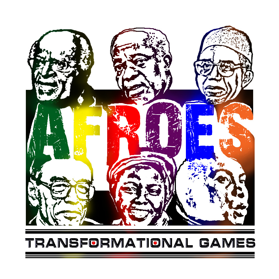 Logo Design by garygeorgec - Entry No. 66 in the Logo Design Contest Afroes Transformational Games.