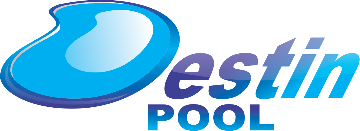 Logo Design by Mokhamad Ngabduloh - Entry No. 83 in the Logo Design Contest Fun Logo Design for Destin Pools.