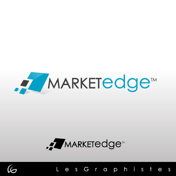 Logo Design by Les-Graphistes - Entry No. 80 in the Logo Design Contest Market Edge or Marketedge.