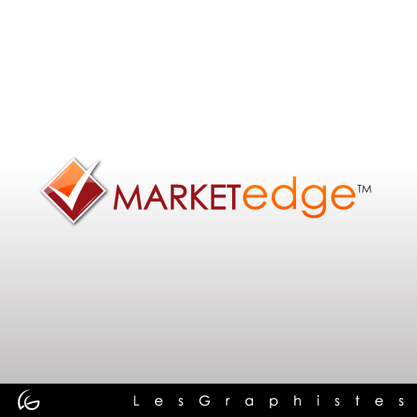 Logo Design by Les-Graphistes - Entry No. 81 in the Logo Design Contest Market Edge or Marketedge.