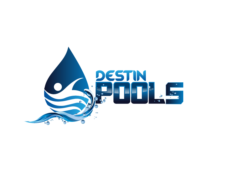Logo design contests fun logo design for destin pools design no 86 by graphicsuite - Swimming pool logo design ...
