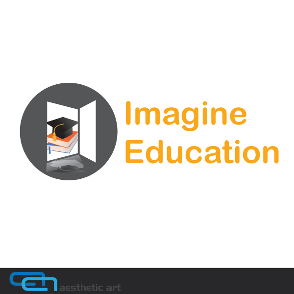 Logo Design by aesthetic-art - Entry No. 177 in the Logo Design Contest Imagine Education.
