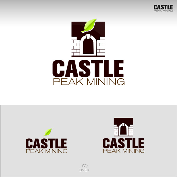 Logo Design by rockpinoy - Entry No. 2 in the Logo Design Contest Castle Peak Mining.