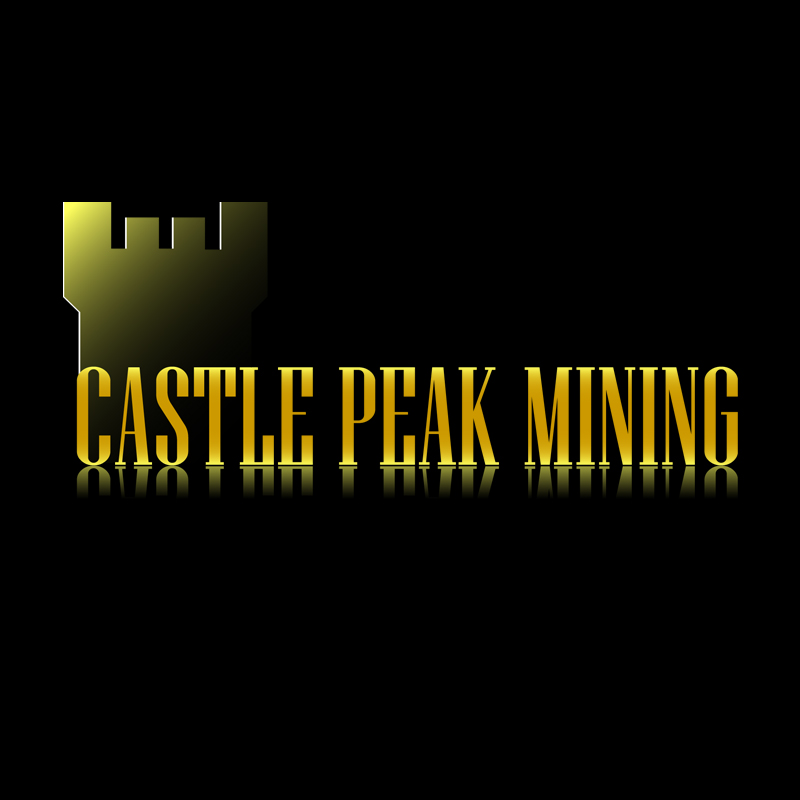 Logo Design by zams - Entry No. 3 in the Logo Design Contest Castle Peak Mining.