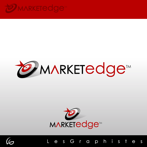 Logo Design by Les-Graphistes - Entry No. 115 in the Logo Design Contest Market Edge or Marketedge.