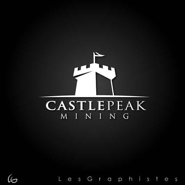 Logo Design by Les-Graphistes - Entry No. 11 in the Logo Design Contest Castle Peak Mining.