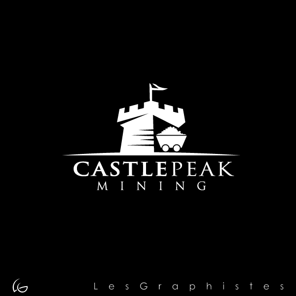 Logo Design by Les-Graphistes - Entry No. 12 in the Logo Design Contest Castle Peak Mining.