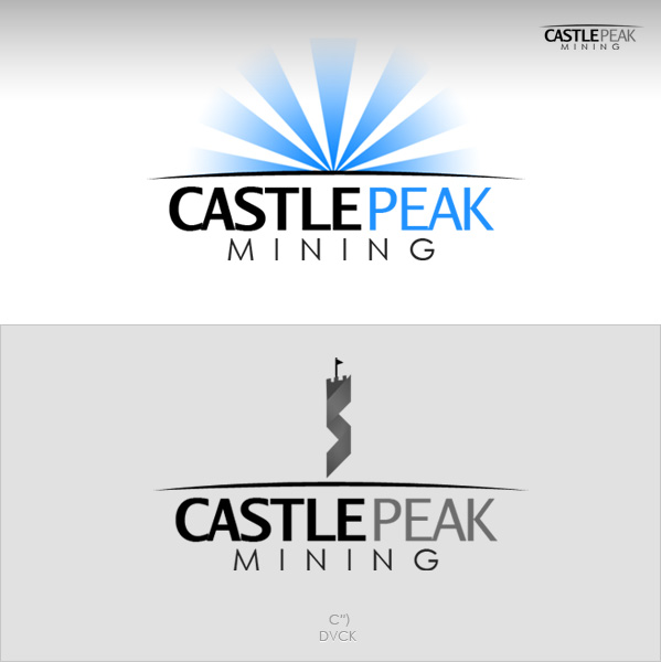 Logo Design by rockpinoy - Entry No. 13 in the Logo Design Contest Castle Peak Mining.