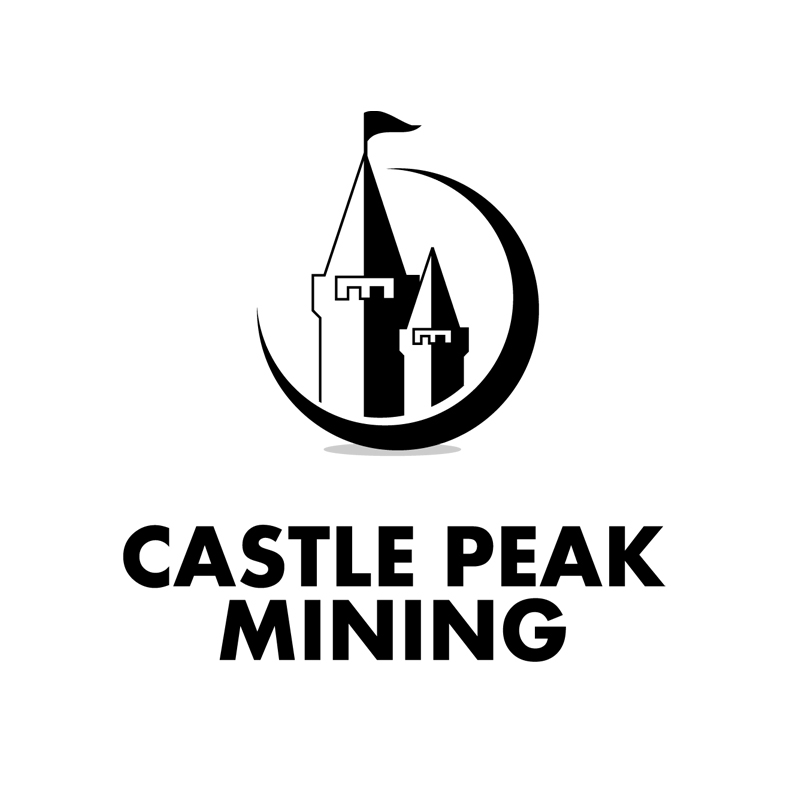 Logo Design by zams - Entry No. 14 in the Logo Design Contest Castle Peak Mining.