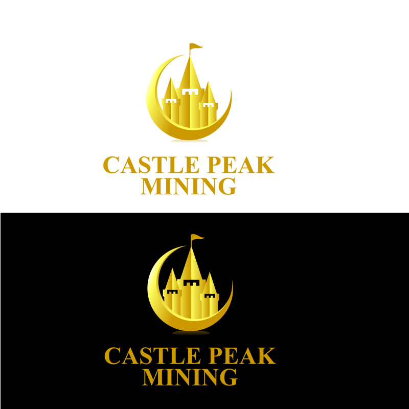Logo Design by zams - Entry No. 16 in the Logo Design Contest Castle Peak Mining.