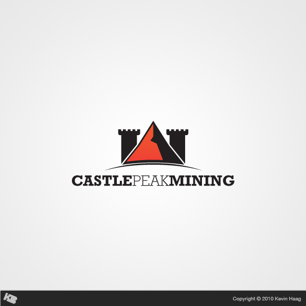Logo Design by Kevin  Haag - Entry No. 19 in the Logo Design Contest Castle Peak Mining.
