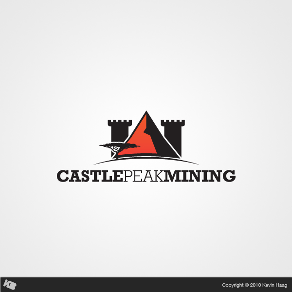 Logo Design by Kevin  Haag - Entry No. 21 in the Logo Design Contest Castle Peak Mining.