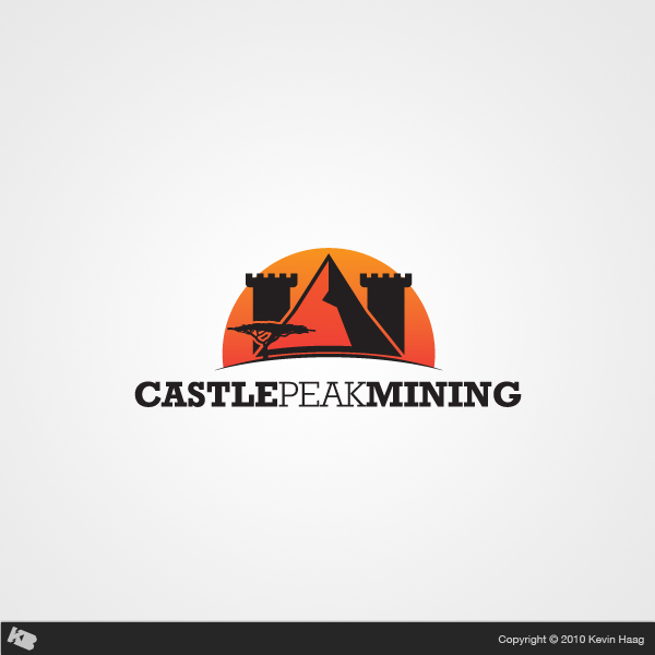 Logo Design by Kevin  Haag - Entry No. 22 in the Logo Design Contest Castle Peak Mining.