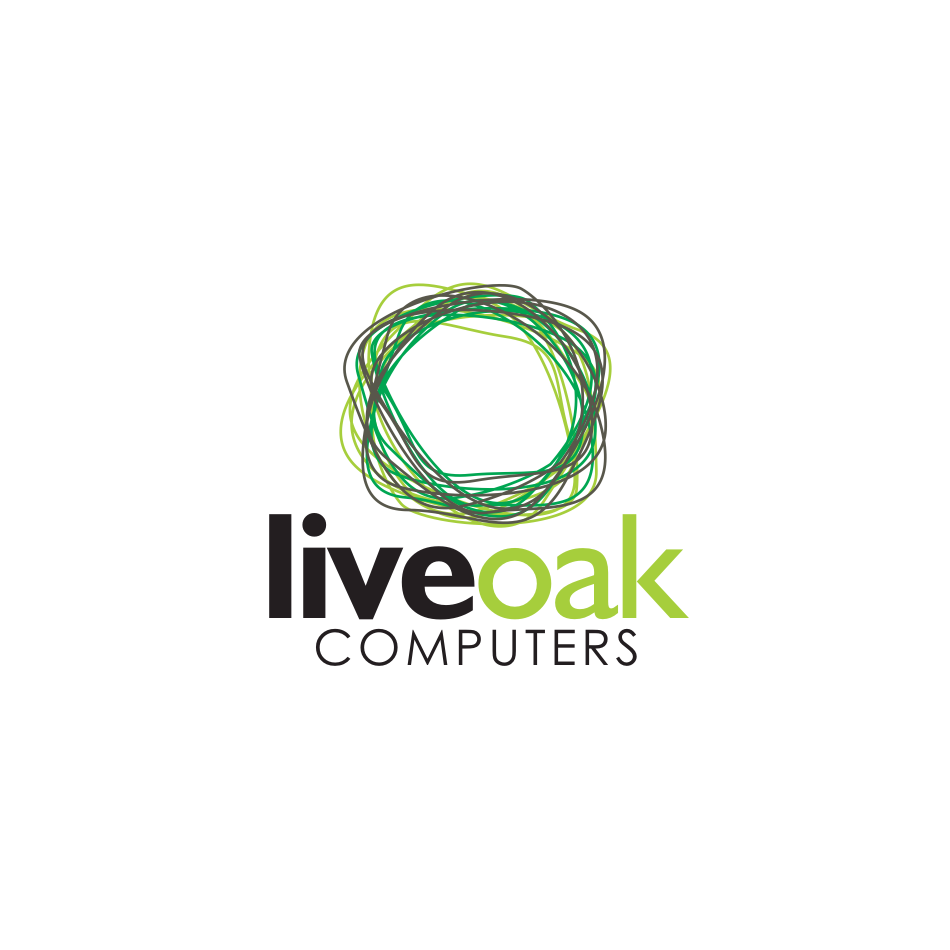 Logo Design by njleqytouch - Entry No. 74 in the Logo Design Contest Live Oak Computers.