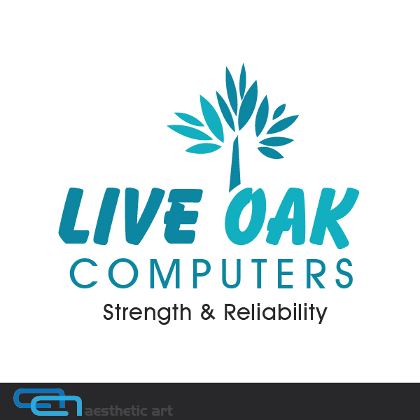 Logo Design by aesthetic-art - Entry No. 80 in the Logo Design Contest Live Oak Computers.