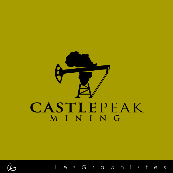 Logo Design by Les-Graphistes - Entry No. 25 in the Logo Design Contest Castle Peak Mining.