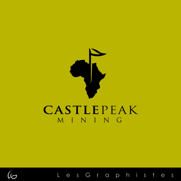 Logo Design by Les-Graphistes - Entry No. 26 in the Logo Design Contest Castle Peak Mining.