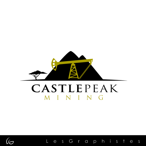 Logo Design by Les-Graphistes - Entry No. 27 in the Logo Design Contest Castle Peak Mining.