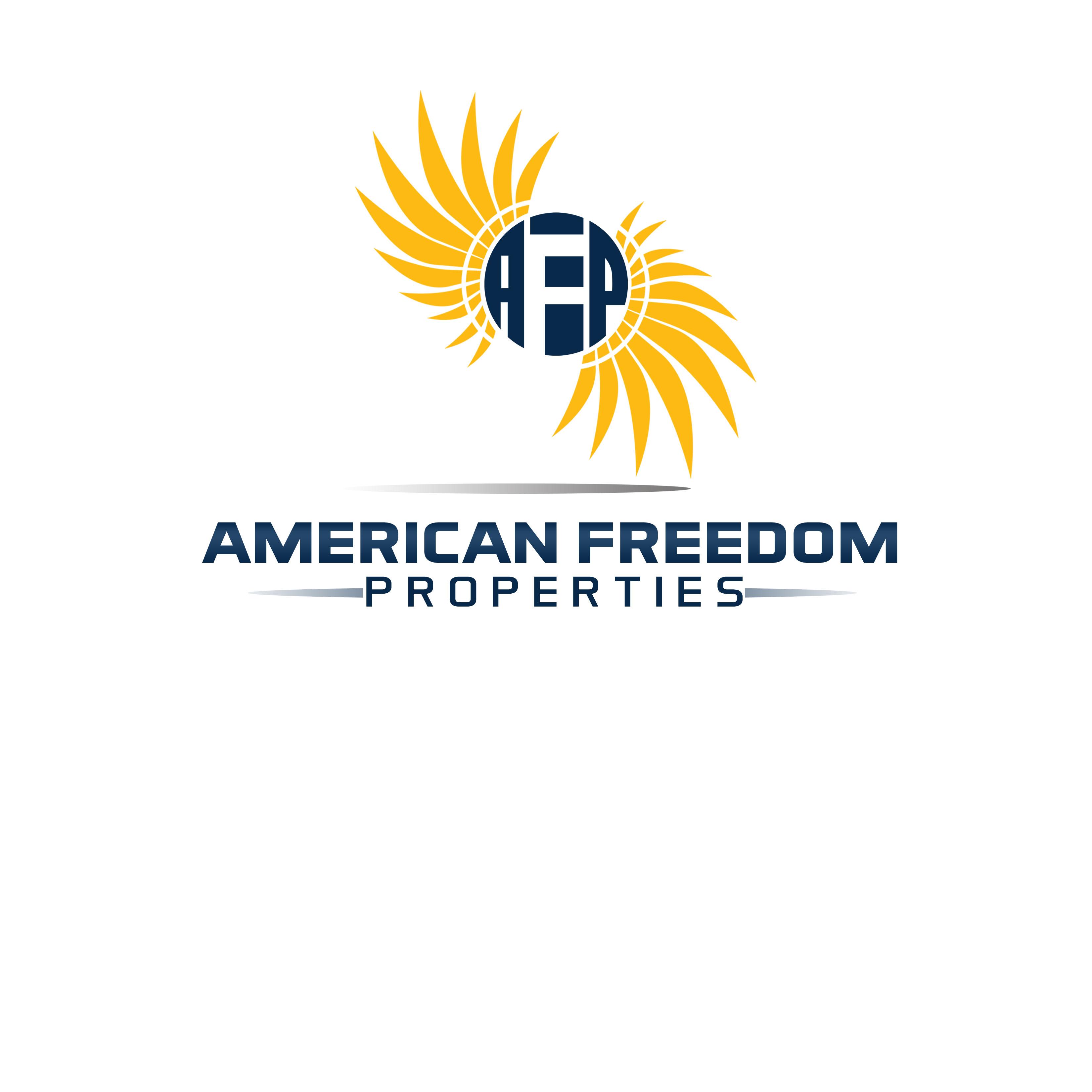Creative Logo Design For American Freedom Properties