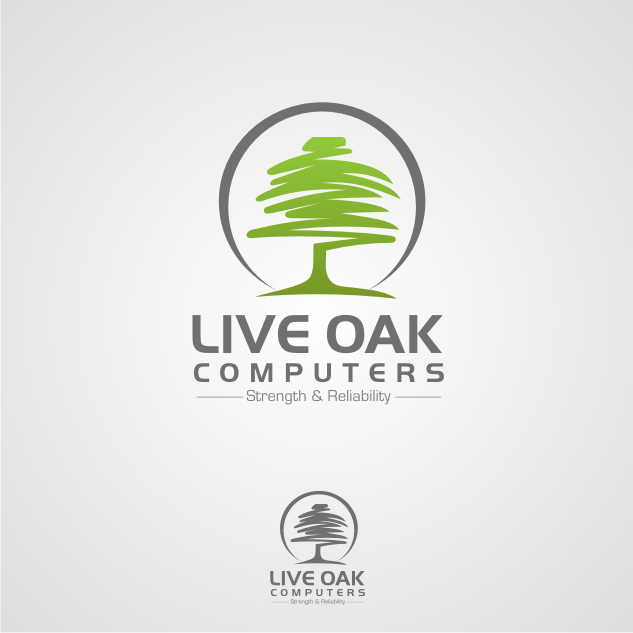 Logo Design by key - Entry No. 84 in the Logo Design Contest Live Oak Computers.