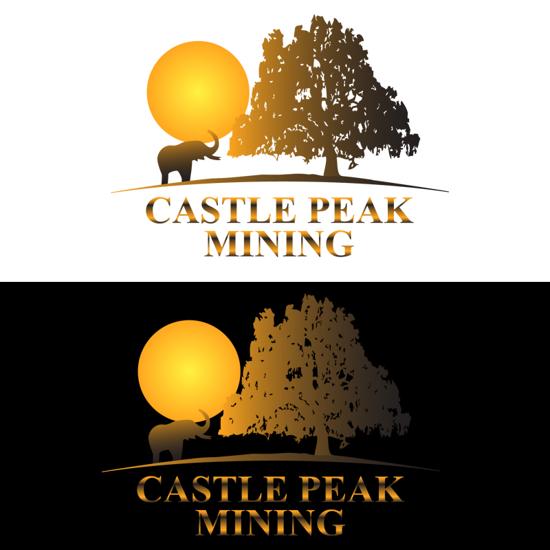 Logo Design by zams - Entry No. 30 in the Logo Design Contest Castle Peak Mining.