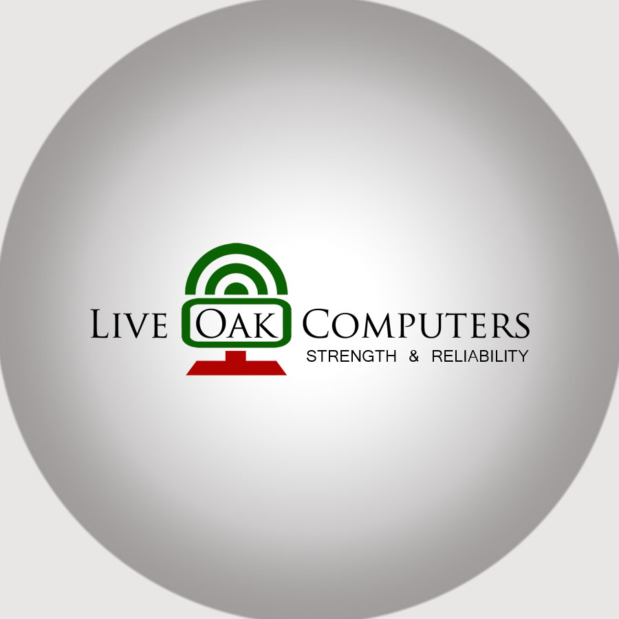 Logo Design by agb60 - Entry No. 89 in the Logo Design Contest Live Oak Computers.