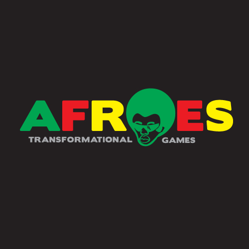 Logo Design by kinoq - Entry No. 75 in the Logo Design Contest Afroes Transformational Games.
