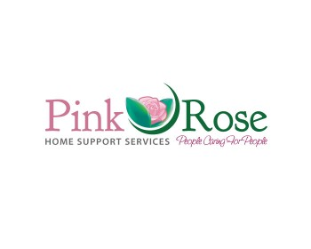 Logo Design by CRC-Designs - Entry No. 141 in the Logo Design Contest Pink Rose Home Support Services.