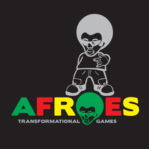 Logo Design by kinoq - Entry No. 76 in the Logo Design Contest Afroes Transformational Games.