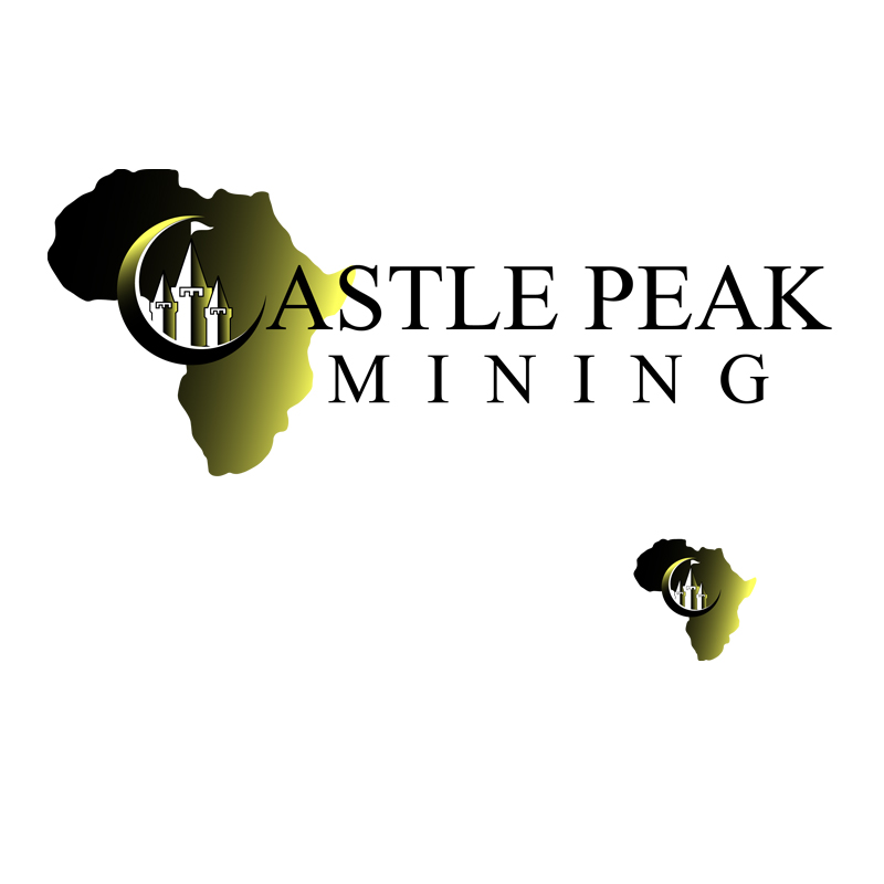 Logo Design by zams - Entry No. 40 in the Logo Design Contest Castle Peak Mining.