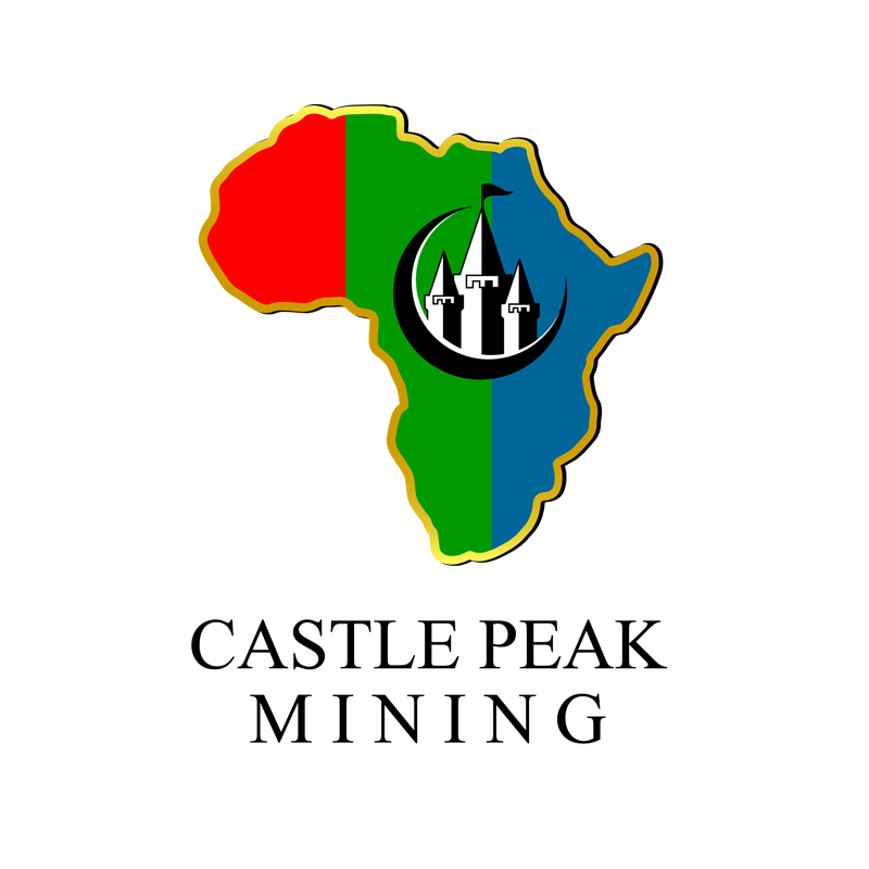 Logo Design by zams - Entry No. 41 in the Logo Design Contest Castle Peak Mining.